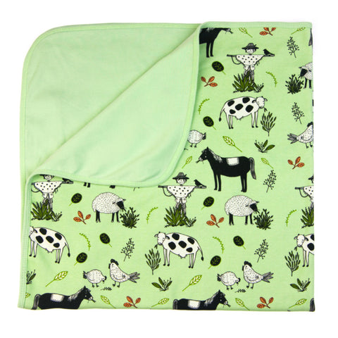 Little Farmer Baby Blanket by igi organic - Special Little Shop