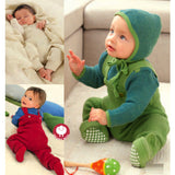 Disana Organic Merino Wool knitted baby dungarees / trousers (7 colours) - Special Little Shop - 9