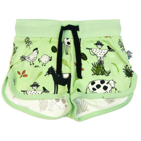 Little Farmer baby & todder shorts by igi organic - Special Little Shop - 1