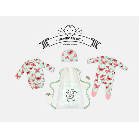 Pink Butterfly Newborn Kit by igi organic - Special Little Shop - 1