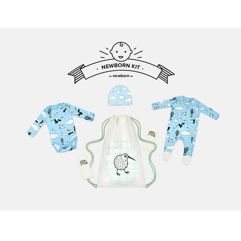 Blue Sky Newborn Kit by igi organic - Special Little Shop - 1