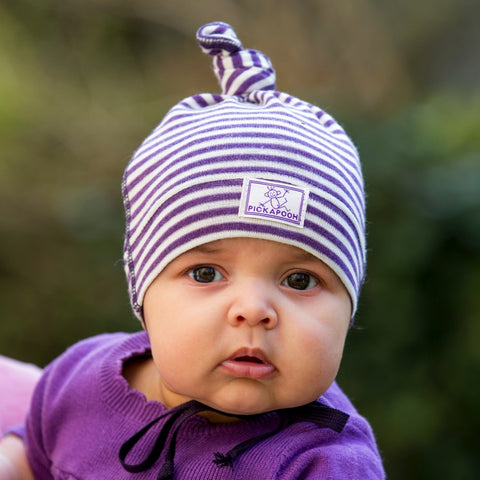 Paula - Wool Baby, Toddler, Child Hat by Pickapooh (Organic Wool & Silk) - Special Little Shop - 1