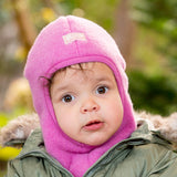 Balaclava - Winter Merino Wool Baby Toddler Child's Hat by Pickapooh