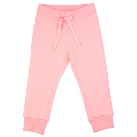 Pink Butterfly baby joggers (sweat pants) by igi organic - Special Little Shop - 1