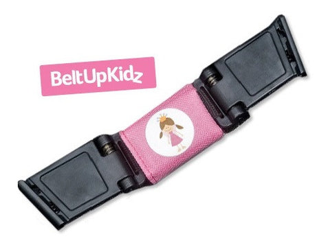 Belt Up Kidz Child Safety Shoulder Strap/Buckle (Pink). - Special Little Shop - 1