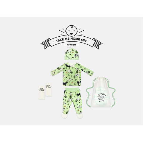 Little Farmer Newborn Take Me Home Set by igi - Special Little Shop - 1