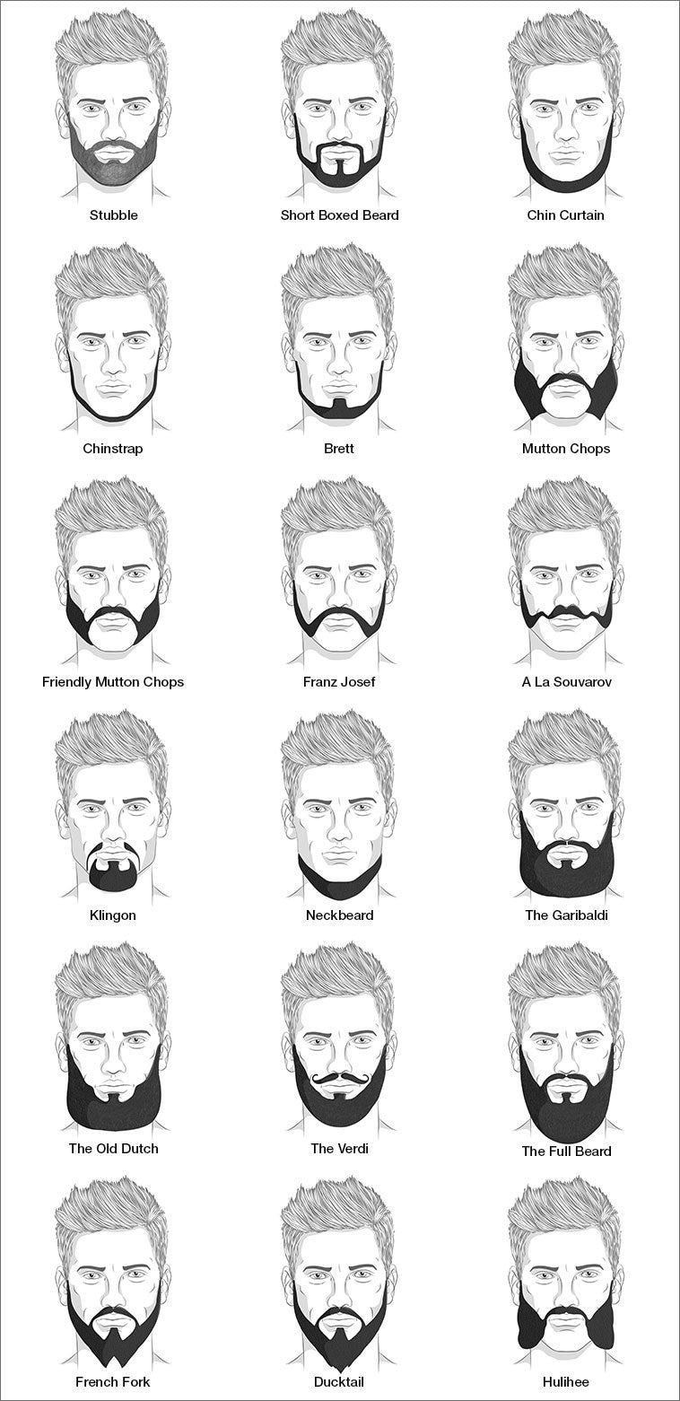 Fine Different Beard Styles For Men The Best Beard Types Short Hairstyles Gunalazisus