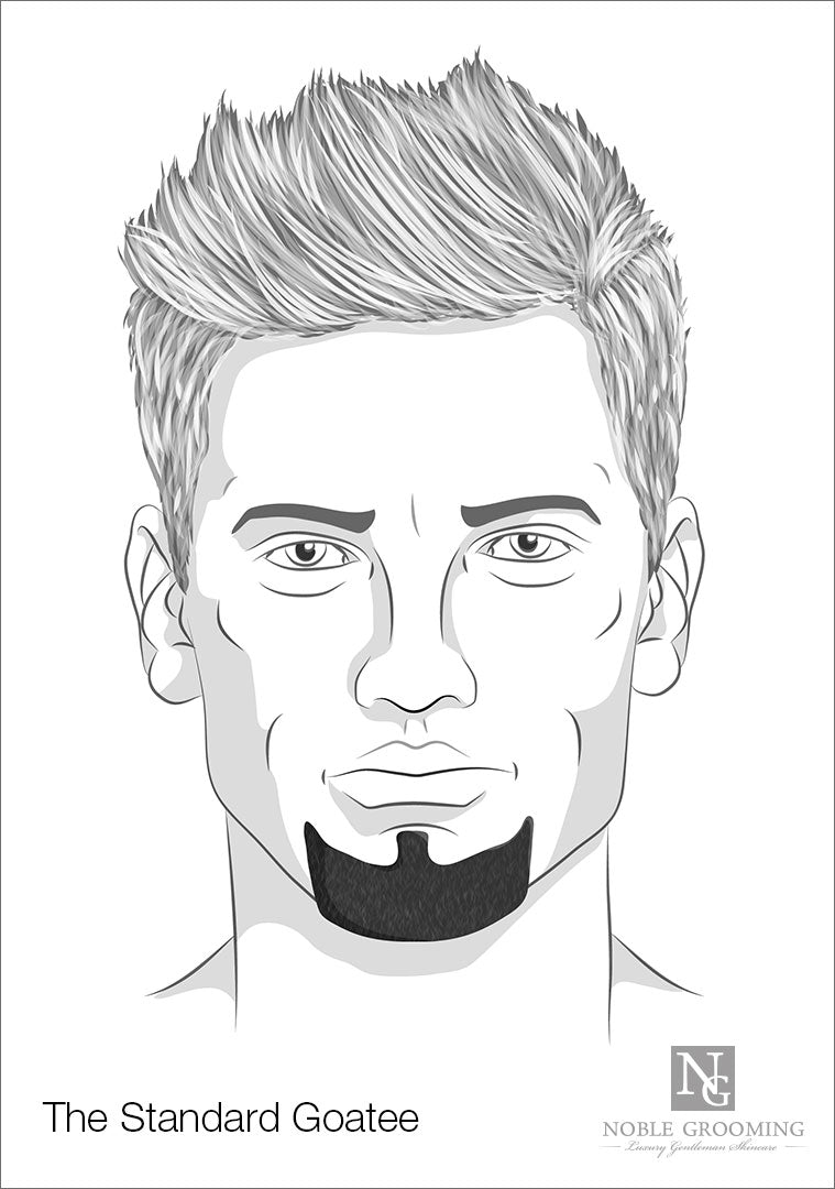 Terrific Different Goatee Styles For Men Find Your Style Short Hairstyles For Black Women Fulllsitofus