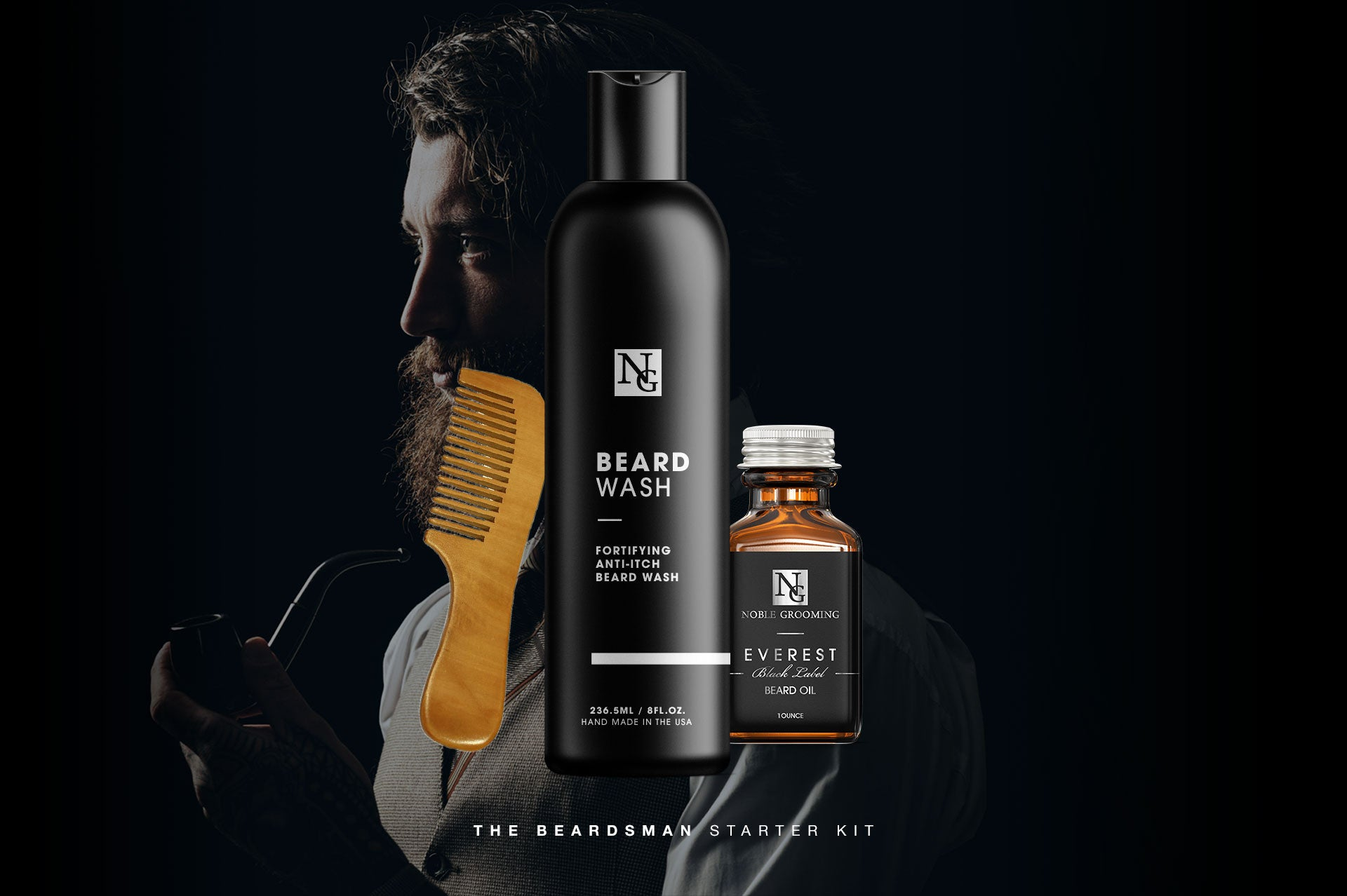 Black Label Beard Care Collection