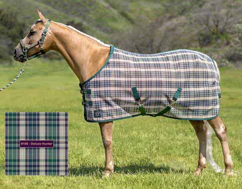 Kensington Signature Protective SureFit Fly Sheet in Deluxe Hunter Plaid