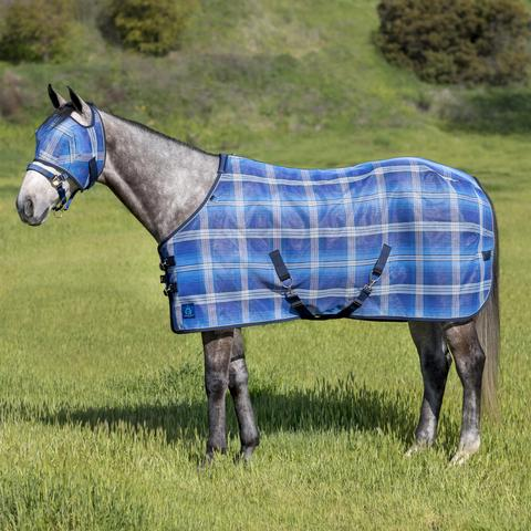 Kensington Signature Protective SureFit Fly Sheet in Kentucky Blue