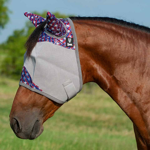 Cashel Crusader Freedom Fly Mask with Ears