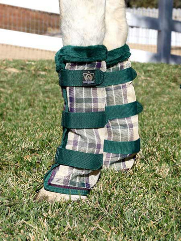 Kensington Fly Boots in Deluxe Hunter Plaid