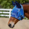 Kensington Fly Mask with Web Trim with Ears in Kentucky Blue Plaid