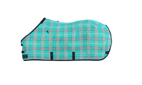 Kensington Pony Protective Fly Sheet in Black Ice Plaid
