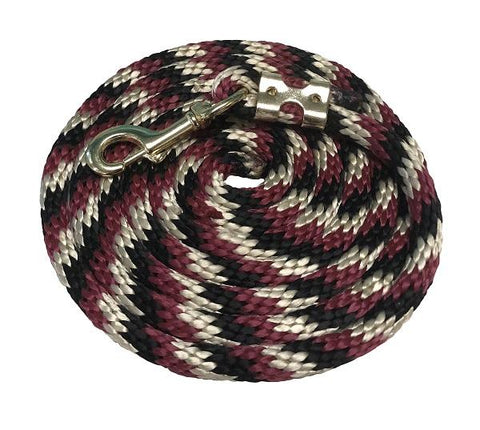 Kensington 10' Poly Tri-Colored Lead Rope