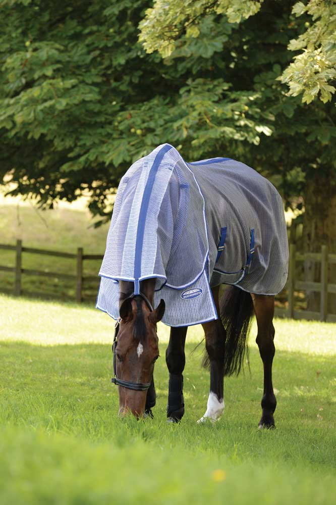 "Sizes 66/"" to 84/"" Weatherbeeta ComFiTec Ripshield Plus Detach A Neck Fly Sheet"