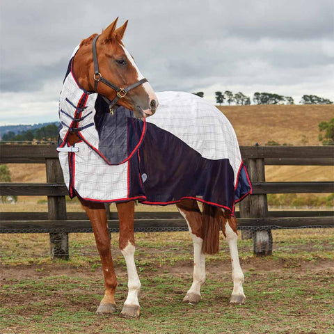 WeatherBeeta Breeze Combo Neck Fly Sheet for Horses