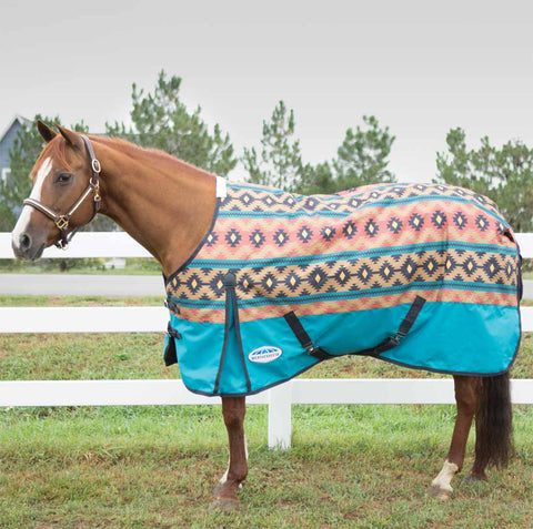 WeatherBeeta ComFiTec Essential Medium 220g Navajo Turnout Blanket