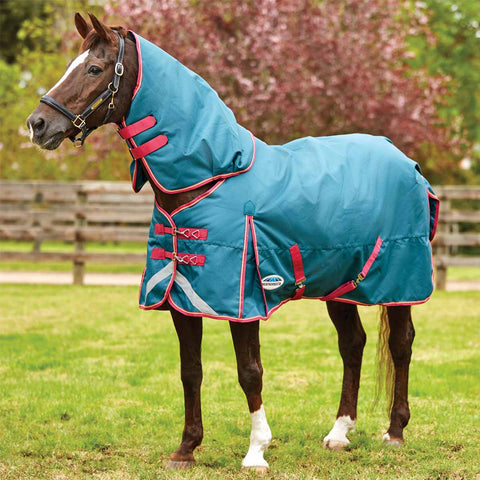 WeatherBeeta ComFiTec Plus Dynamic Detach-a-Neck Medium Turnout Blanket