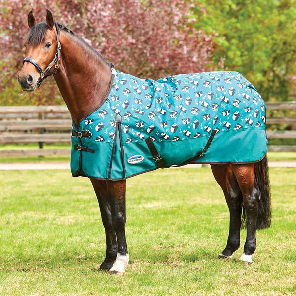 WeatherBeeta ComFiTec Essential Panda Print Pony Medium Turnout Blanket