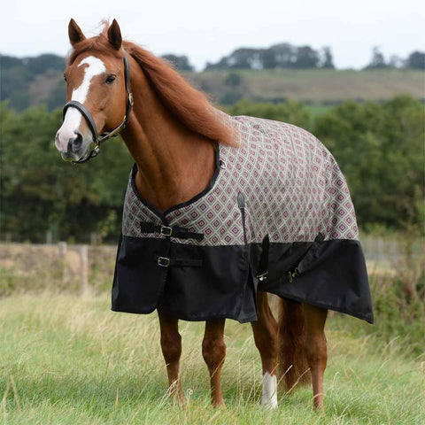 WeatherBeeta ComFiTec Essential Medium South West Spice Print Turnout Blanket