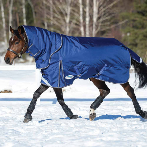 WeatherBeeta ComFiTec Ultra Tough II Detach-A-Neck Medium Turnout Horse Blanket