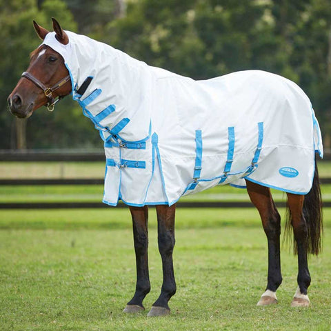 WeatherBeeta ComFitec Sweet Itch Shield Combo Neck Fly Rug