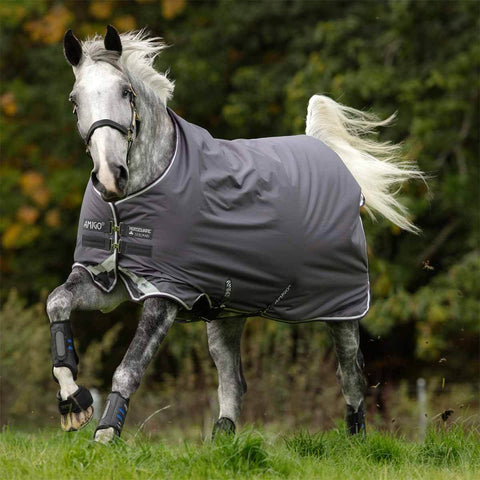 Amigo Bravo 12 Original 250g Medium Horse Turnout Blanket in Excalibur