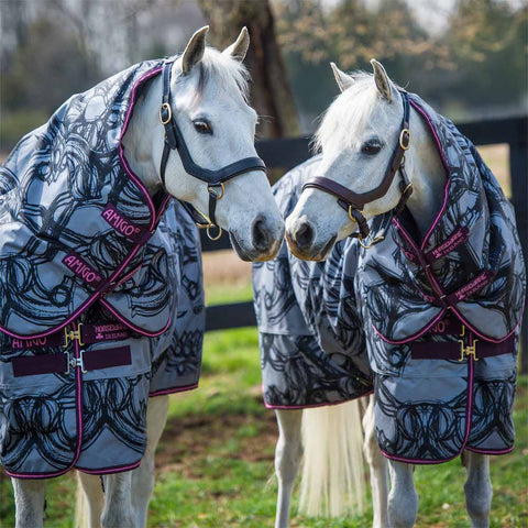 Amigo Pony Plus 200g Horse Print Turnout Blanket