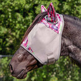 Cashel Crusader Pink Watercolor Fly Mask