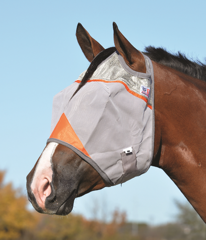 Cashel Animal Rescue Crusader Fly Mask