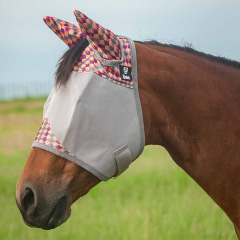 Cashel Crusader Palms Fly Mask with Ears