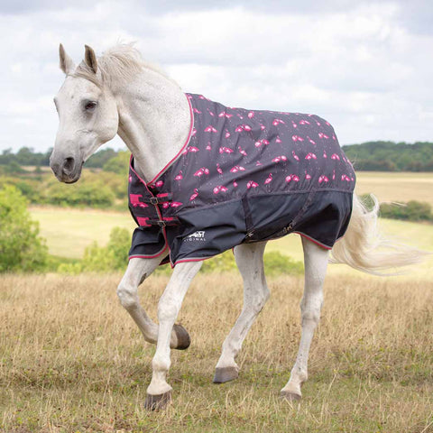 Shires Tempest Flamingo Rain Sheet