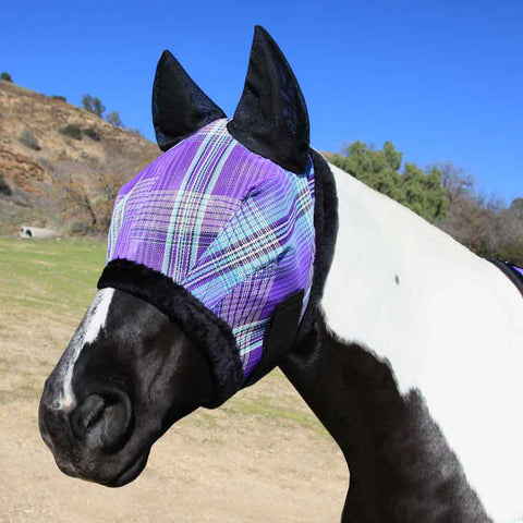 Kensington Fly Mask in Lavender Mint