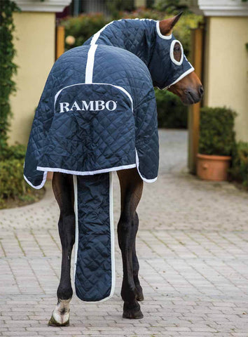 Rambo Show Set Rug Back