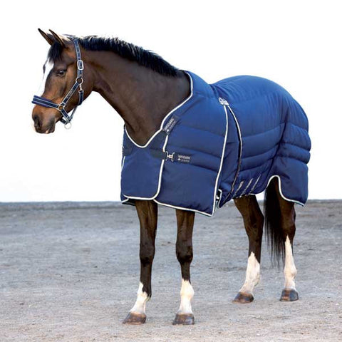 Rambo Optimo Medium Stable Blanket in Navy