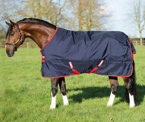 Rambo Original 200g Medium Turnout Blanket Side View