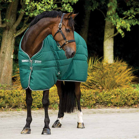 Rambo Medium 200g Stable Blanket in Hunter Green