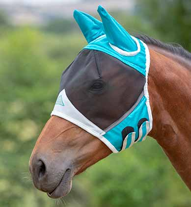Shires Fine Mesh Mask with Ears