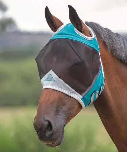 Shires Fine Mesh Mask with Ear Holes