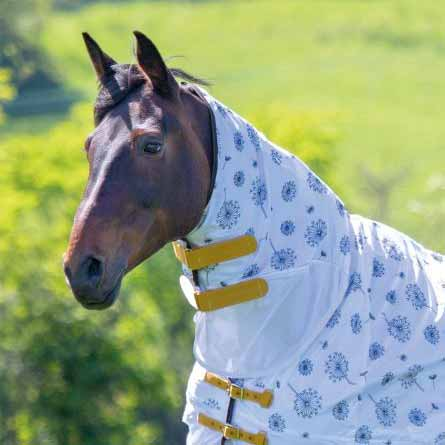Shire Tempest Dandelion Fly Neck Cover - Performance Horse Blankets