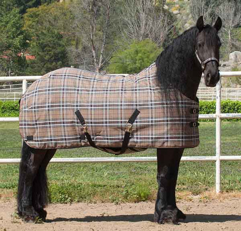 Kensington SuperMesh Heavy 300g Turnout in Deluxe Black Plaid