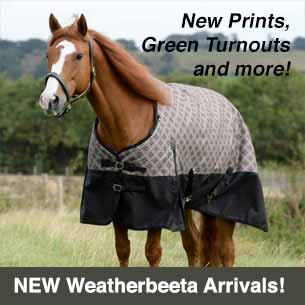 New Horse Blankets from Weatherbeeta