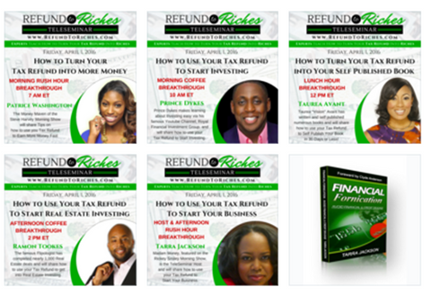 Refund To Riches TeleSeminar Bundle