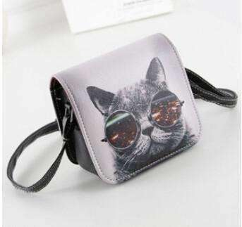 Cat Wearing Glasses Messenger Handbag - Meow Merch - 1