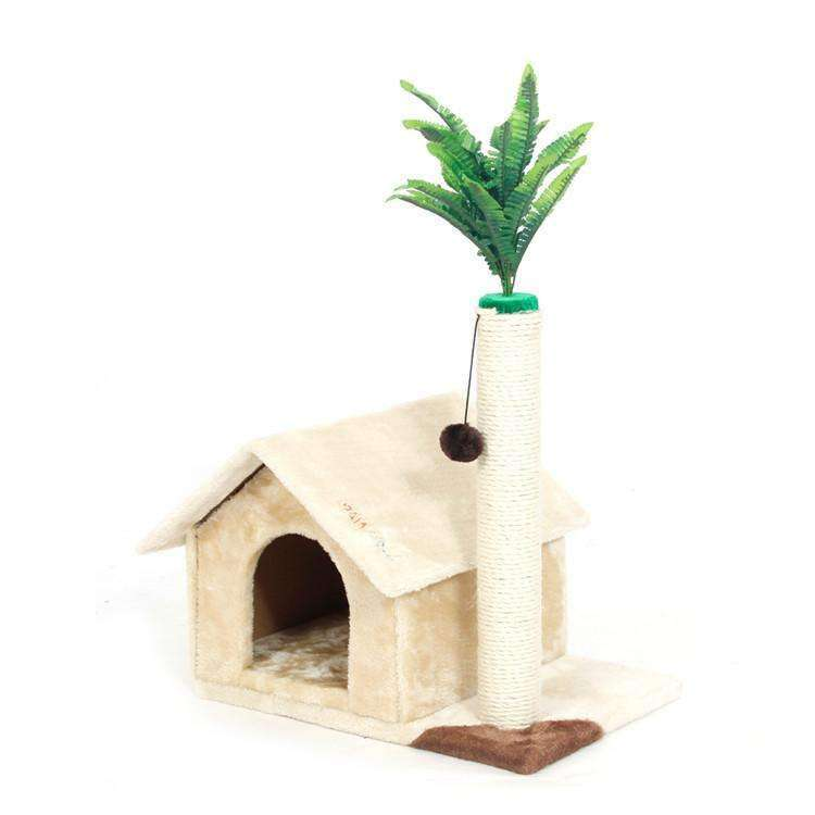 Cat House with tree - Meow Merch - 4