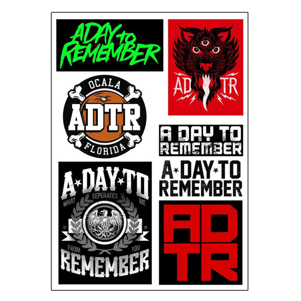 ADTR Sticker Set