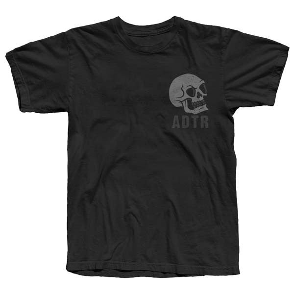 Black Skull & Hourglass T-Shirt