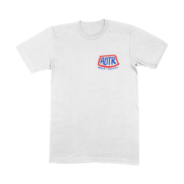WHITE FLORIDA T-SHIRT